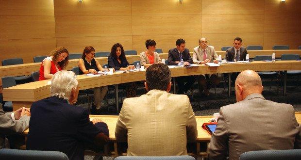 IMGP1780 Vista parcial reunión Comité Organizador EUROAL 2016