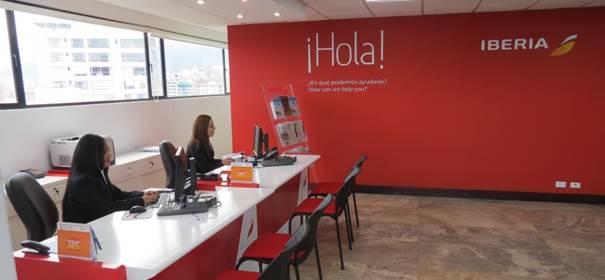 Iberia quito con nuevas oficinas y mas vuelos directos trafficamerican - Oficinas de iberia ...