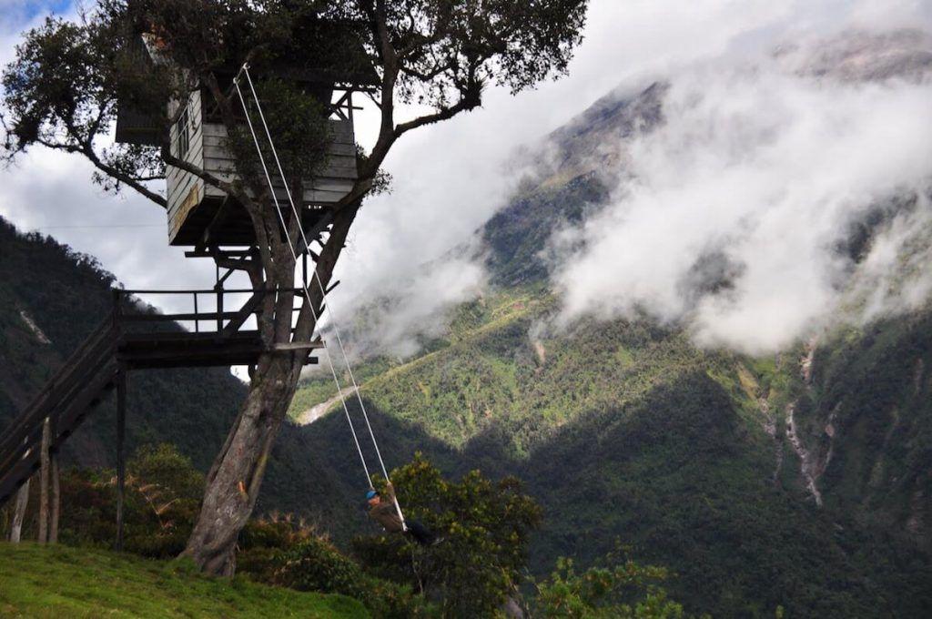 columpio del fin del mundo Baños Ecuador