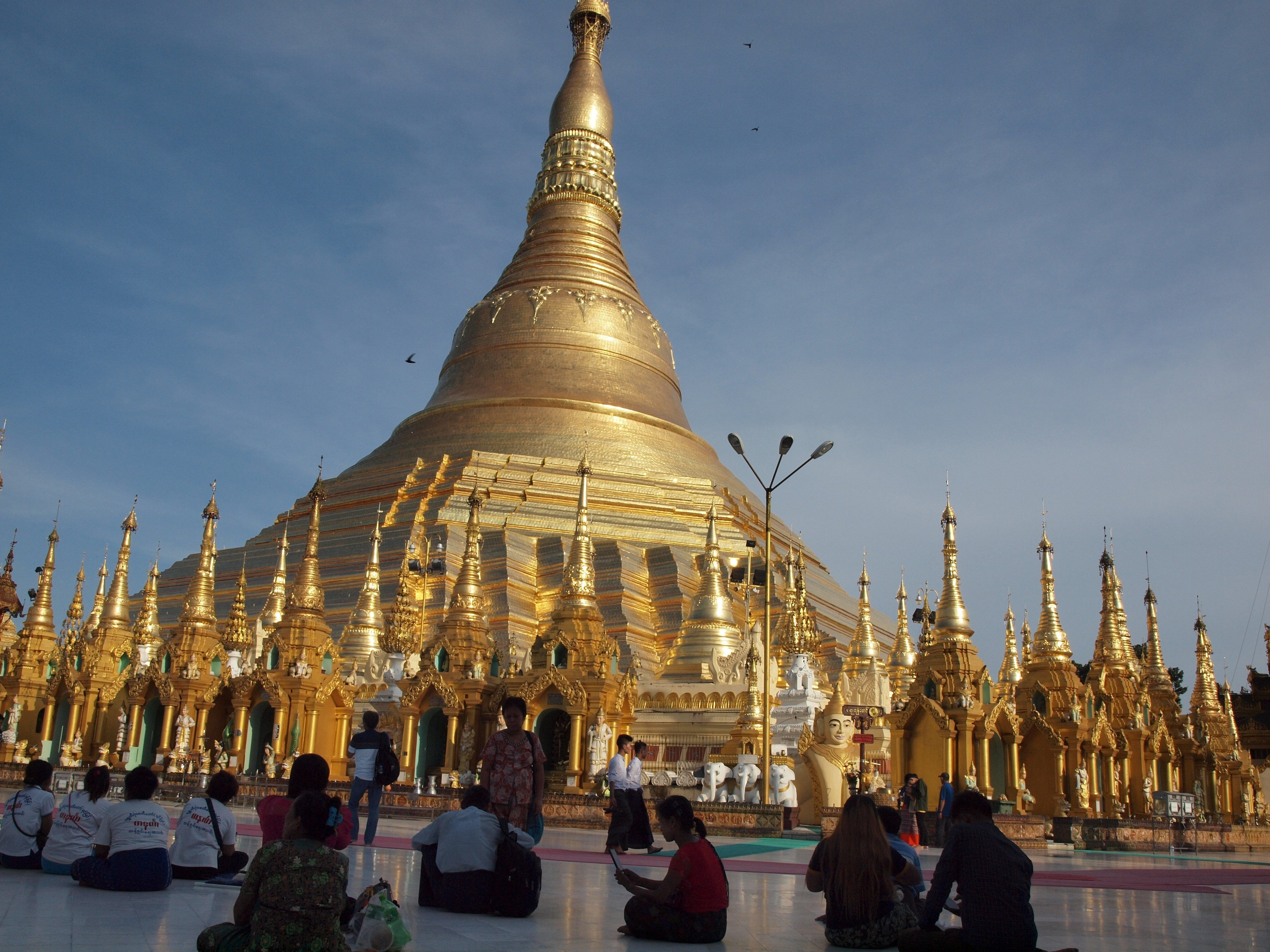 Pagoda zedi, Scwedagon